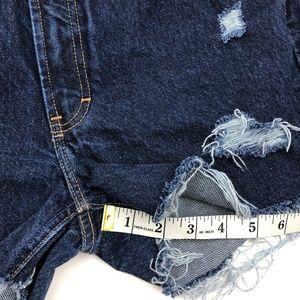 Tommy Hilfiger Shorts - Vintage Tommy Hilfiger Distressed Jean Shorts SZ 8